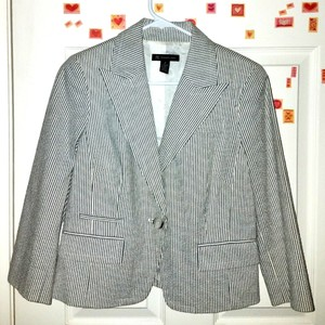 INC International Concepts Pinstripe Blazer