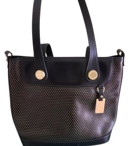 Dooney & Bourke Tote in Dark Brown that reads like black