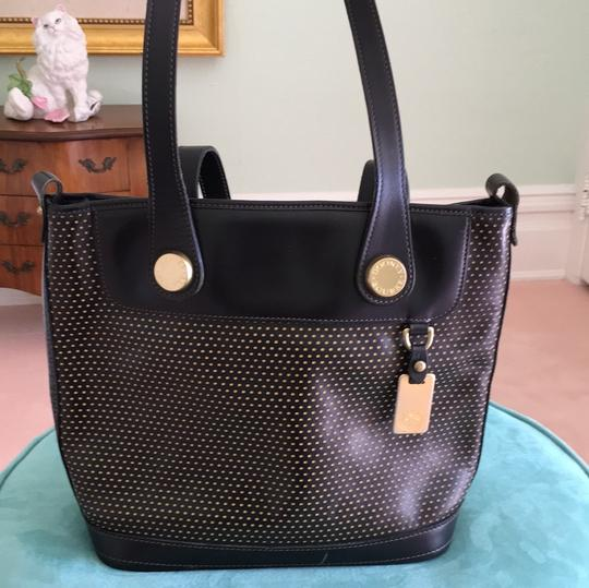 Dooney & Bourke Tote in Dark Brown that reads like black Image 4