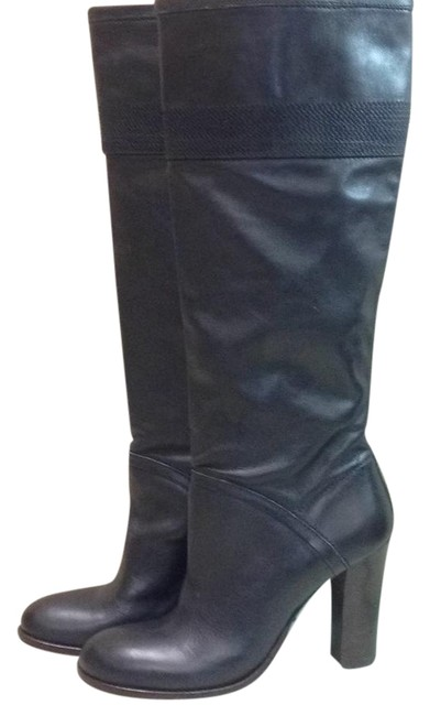 Item - Black Knee High Boots/Booties Size US 8 Regular (M, B)