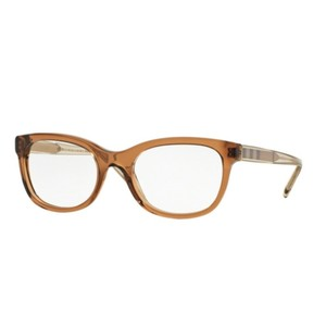 9d372caf57f7 Burberry BE2213F-3564 Oval Women's Crystal Brown Frame Genuine Eyeglasses