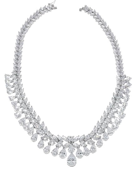 Preload https://img-static.tradesy.com/item/22247873/cz-by-kenneth-jay-lane-double-pear-bib-necklace-0-1-540-540.jpg