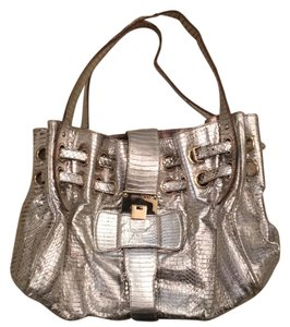 Jimmy Choo Tote in silver and gold