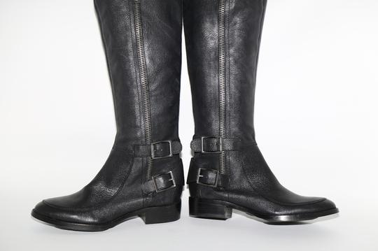 SAM EDELMAN Leather Buckle Black Boots Image 8
