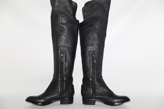 SAM EDELMAN Leather Buckle Black Boots Image 9