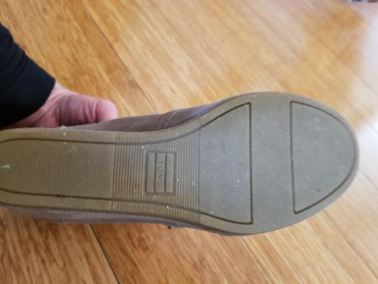 TOMS Suede Taupe/sand Boots Image 3