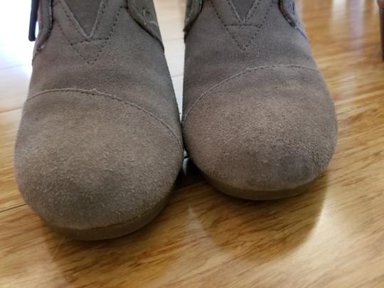 TOMS Suede Taupe/sand Boots Image 5