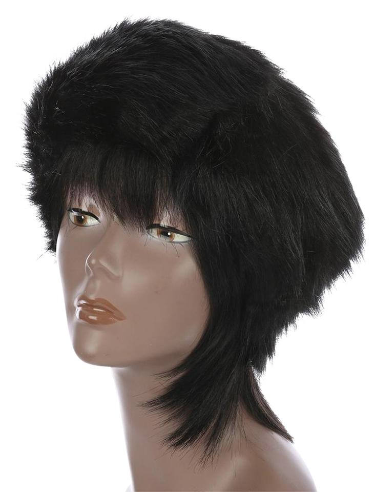 Other Warm Chic Open Top Black Faux Fur Winter Cosask Ski Hat Headband ... 00feda1769f