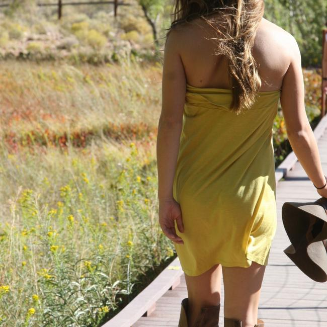 See by Chloé short dress yellow on Tradesy Image 2
