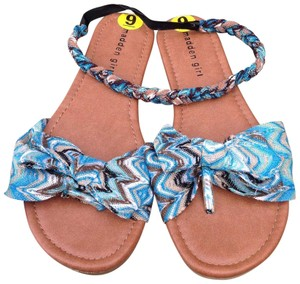 Madden Girl blue/multi Sandals