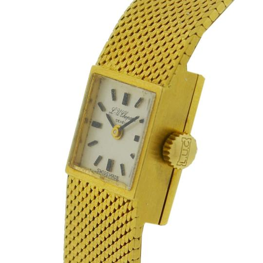Chopard Vintage Chopard 18k Yellow Gold Ladies Watch Image 6