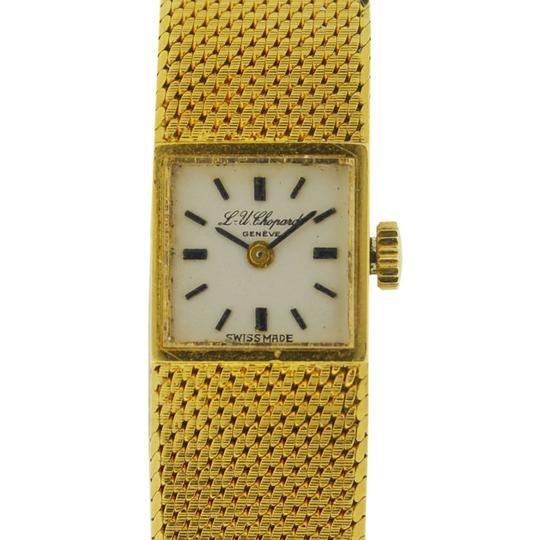 Chopard Vintage Chopard 18k Yellow Gold Ladies Watch Image 7