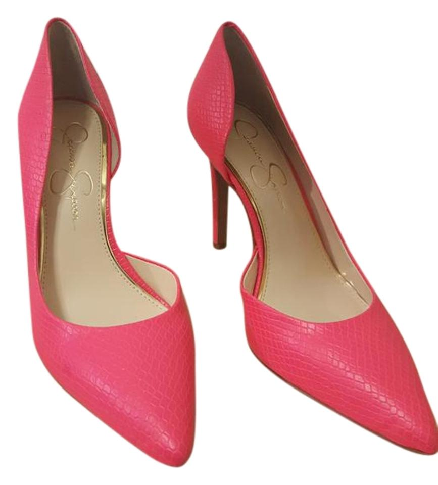 e49c5d63625f Jessica Simpson Hot Pink Js-claudette Pumps Size US 7.5 Regular (M ...
