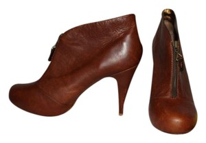 Twelfth St. by Cynthia Vincent Leather Brown Boots