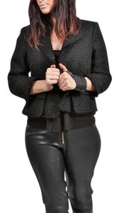Smythe Cropped Black Jacket