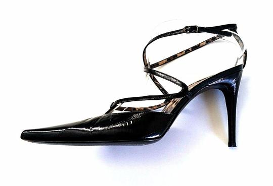 Dolce&Gabbana Dolce And Gabbana Patent Leather Strappy black Pumps Image 3