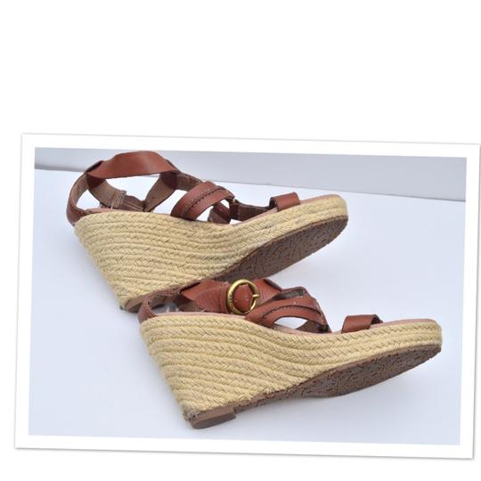 Fossil tan Wedges Image 2