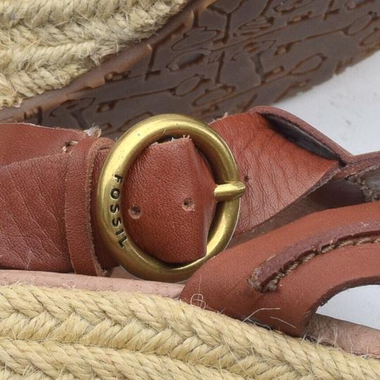 Fossil tan Wedges Image 3