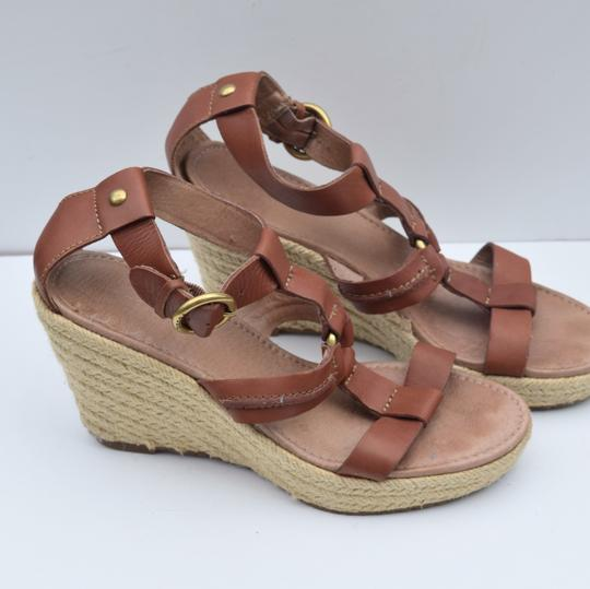 Fossil tan Wedges Image 6