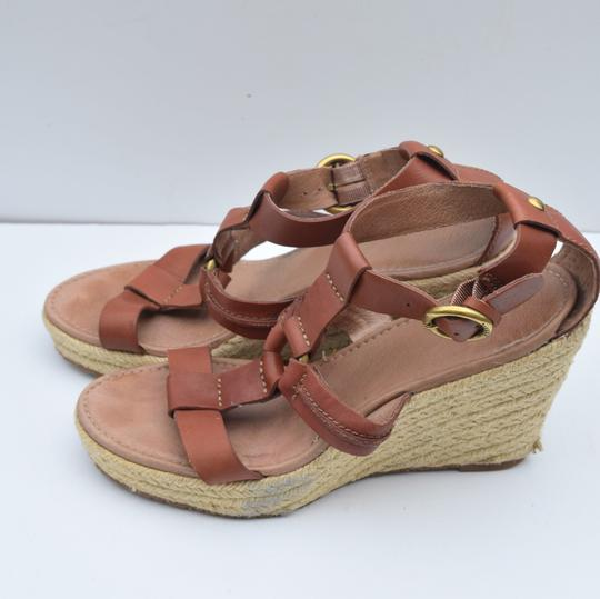 Fossil tan Wedges Image 7