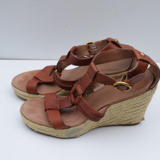 Fossil tan Wedges Image 9