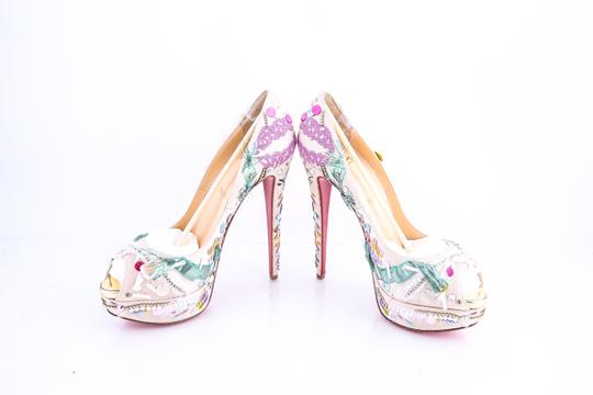 Christian Louboutin Multicolor Pumps Image 5
