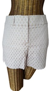 White House | Black Market Dress Shorts White and Beige