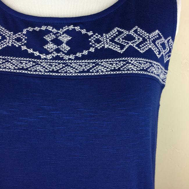 Max Jeans Top blue white Image 7