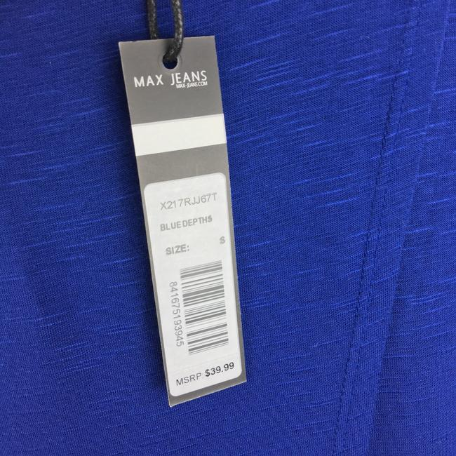 Max Jeans Top blue white Image 8