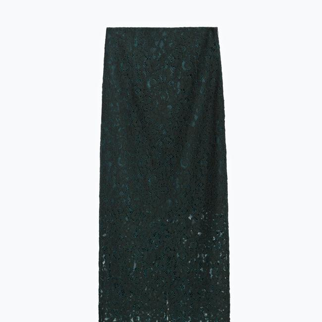 Zara Skirt green Image 2