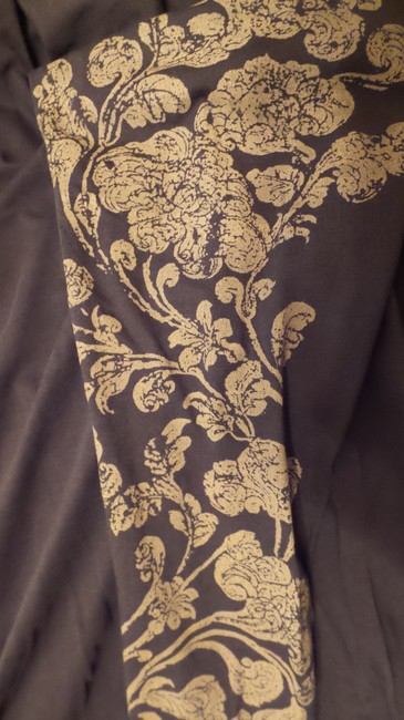 Peruvian Connection Print Knit Distressed Like New Top Brown, tan Image 7