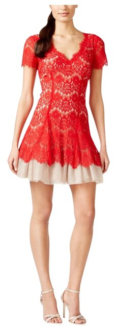 Preload https://img-static.tradesy.com/item/22250210/betsy-and-adam-red-and-nude-lace-party-short-night-out-dress-size-petite-10-m-0-1-650-650.jpg