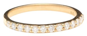 Other Splendid Natural Diamond 14K Solid Yellow Gold Band Ring