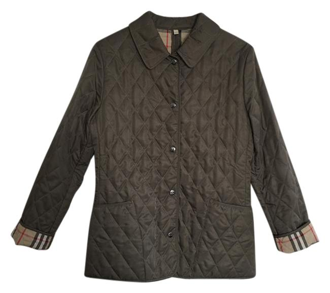 Item - Olive Quilted Women's In Jacket Size 2 (XS)