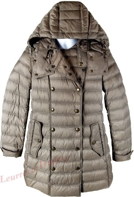 Item - Military Kaki Valestead Goose Down Quilted with Detachable Hood Coat Size 8 (M)
