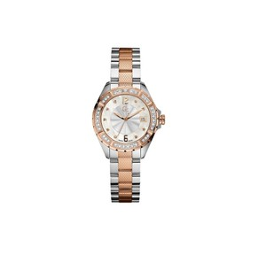 Guess GUESS Collection Ladies Stainless & Rosegold 35 Diamond Watch A70105l1