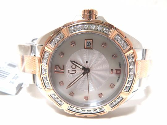 Guess GUESS Collection Ladies Stainless & Rosegold 35 Diamond Watch A70105l1 Image 1