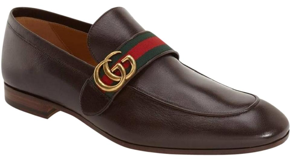 b8aee21bcce Gucci Brown Donnie Bit Loafer Men s Formal Shoes Size US 10.5 ...