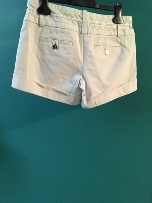 Marciano Gold Embellishments Sophisticated Mini/Short Shorts White Image 1