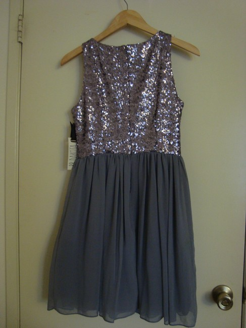BB Dakota Sequin Holiday Party Fit And Flare Dress Image 1