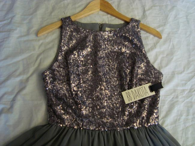 BB Dakota Sequin Holiday Party Fit And Flare Dress Image 2