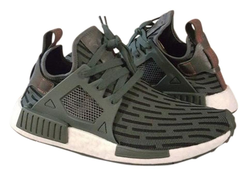 more photos 2a9d3 4d9f6 adidas Green Nmd Xr1 Pk Primeknit Utility Ivy Tactile Bb2375 Duck Camo  Sneakers Size US 10 Regular (M, B)