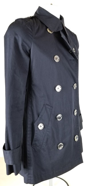 Burberry Brit Double Breasted Trench Coat Image 3