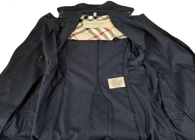 Burberry Brit Double Breasted Trench Coat Image 5