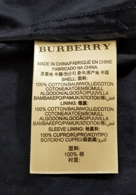 Burberry Brit Double Breasted Trench Coat Image 8