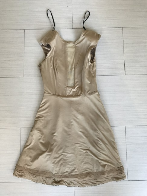 bebe Holiday New Years Sequin Flare Dress Image 10