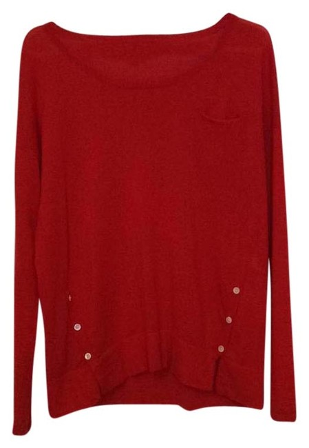 Preload https://img-static.tradesy.com/item/22250906/ax-armani-exchange-red-pullover-blouse-size-8-m-0-1-650-650.jpg