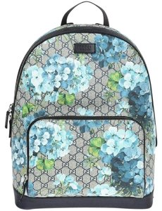 87b151f229ab8 Added to Shopping Bag. Gucci Backpack. Gucci Blooms Blue Backpack