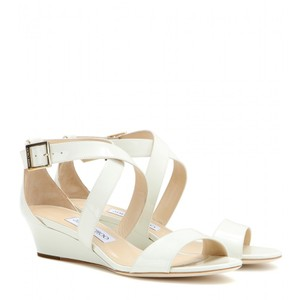 Jimmy Choo Chiara Nude Off White Sandals