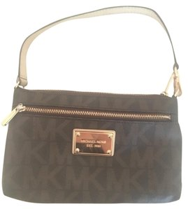Michael Kors Collection Brown Clutch